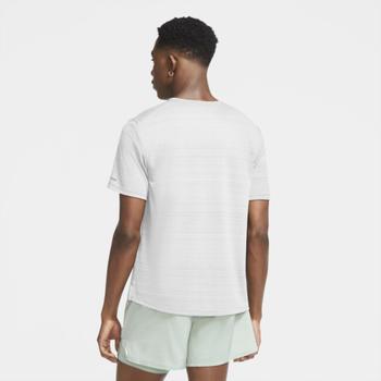 Nike Dri-FIT Miler Laufshirt (CU5992-100) weiß