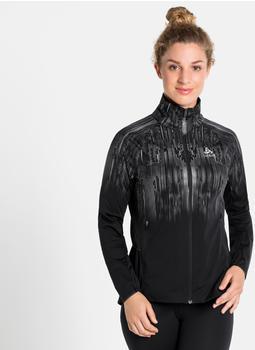 Odlo Zeroweight Pro Warm Reflect Jacket Women (322621-60239) black/reflective graphic