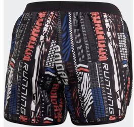 Adidas Marathon 20 Urban Shorts Women (FS9816) black/semi flash red/royal blue