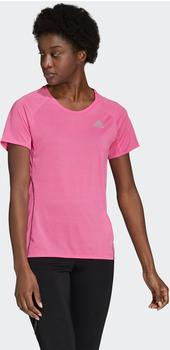 Adidas Women Running Runner Tee screaming pink (GJ9906)