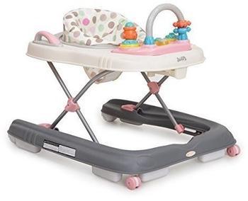 Moni Trade Ltd Lauflernwagen Dotty 2 in 1 mit Spielcenter rosa