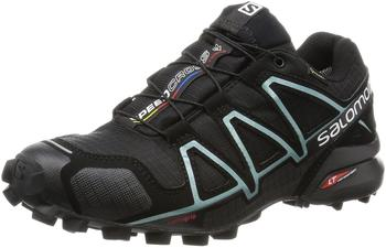 Salomon Speedcross 4 GTX W black/black/metallic bubble blue