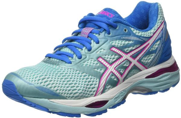 Asics Gel-Cumulus 18 Women aqua splash/white/pink glow