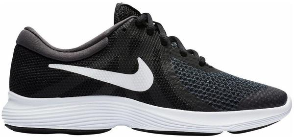 Nike Revolution 4 GS black/white Gr. 35,5