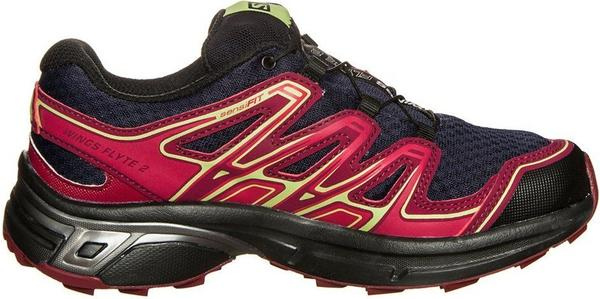 Salomon Wings Flyte 2 GTX W evening blue/beet red/sunny lime