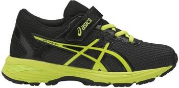 Asics GT-1000 6 GS PS black/energy green/silver