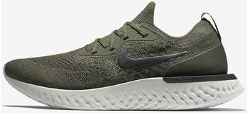 Nike Epic React Flyknit cargo khaki/sequoia/light silver/black