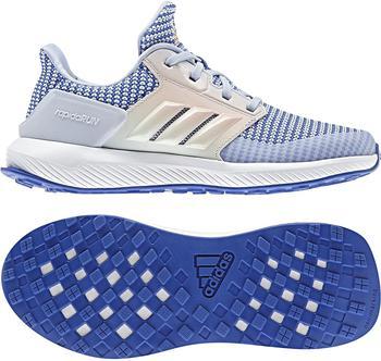 Adidas RapidaRun K hi-res blue/aero blue/aero green
