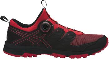 Asics Gel-Fujirado red alert/black