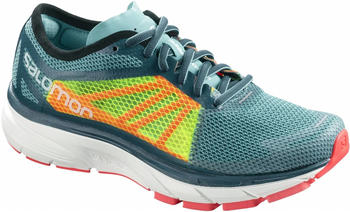 Salomon Sonic RA W blue curacao/safety yellow/fiery coral
