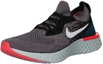 Nike Epic React Flyknit Women gunsmoke/black/geode teal/white