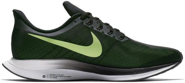 Nike Zoom Pegasus Turbo Men Black/Vast Grey/Laser Fuchsia/Lime Blast