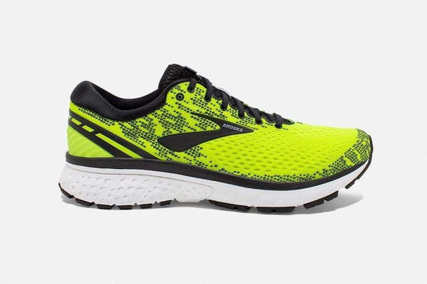 Brooks Ghost 11 Men Nightlife Black White