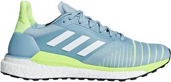 Adidas Solar Glide Women Ash GreyFtwr WhiteHi-Res Yellow