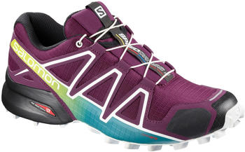 Salomon Speedcross 4 W Dark Purple/White/Deep Lake