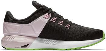 Nike Air Zoom Structure 22 Women Black/Pink Foam/Lime Blast/Vast Grey