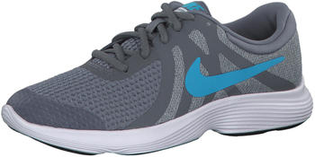 Nike Revolution 4 GS Running Cool Grey Blue Fury-Pure Platinum