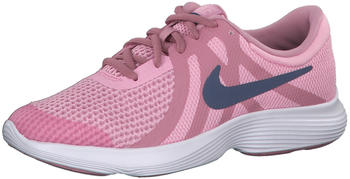 Nike Revolution 4 Youth (943306) Pink/Diffused Blue-Elemetal Pink-White