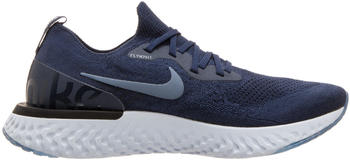 Nike Epic React Flyknit College Navy Diffused Blue Football Grey