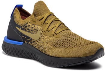 Nike Epic React Flyknit Olive Flak/Black/Hyper Royal