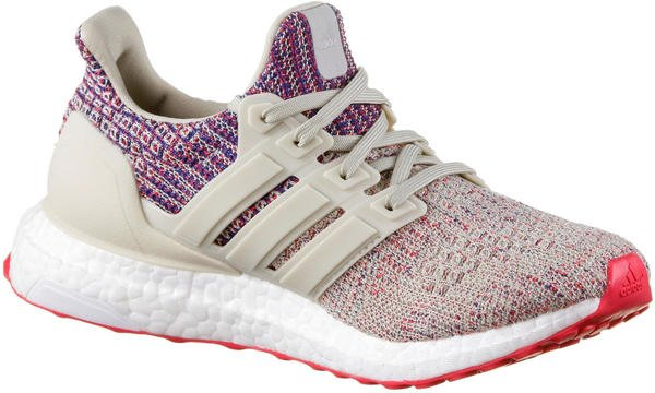 Adidas Ultra Boost W clear brown/shock red/active blue