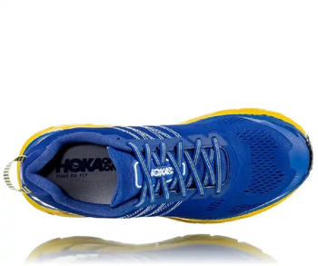 Hoka One One CLIFTON 6 (1102872) Men NEBULAS BLUE / LEMON