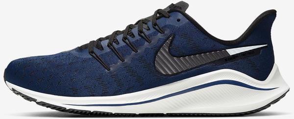 Nike Air Zoom Vomero 14 Men (AH7857) Coastal Blue/Black/Platinum Tint/Metallic Dark Grey