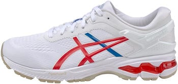 Asics Gel-Kayano 26 (1011A771) white/classic red