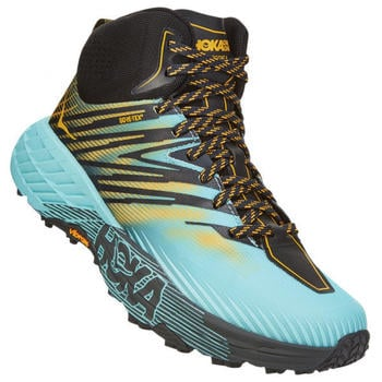 Hoka One One Speedgoat Mid 2 Gore-Tex Women antigua sand/golden rod