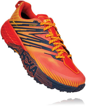 Hoka One One Speedgoat 4 Gore Tex mandarin red/gold fusion