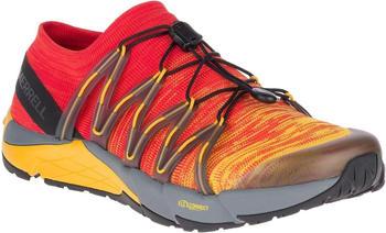 Merrell Bare Access Flex Knit red/yellow