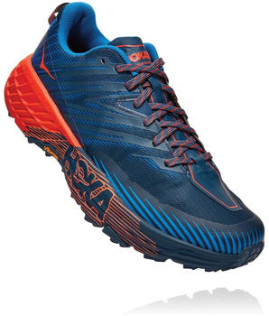 Hoka One One Speedgoat 4 majolica blue/mandarin red