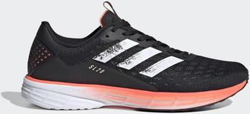Adidas SL20 core black/cloud white/signal coral