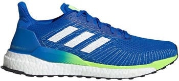 Adidas SolarBOOST 19 glory blue/cloud white/signal green