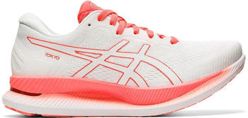 Asics Glideride Women white/sunrise red