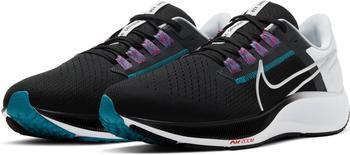 Nike Air Zoom Pegasus 38 black/white/chlorine blue/metallic silver