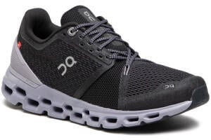 ON Running On Cloudstratus Womens black/lilac