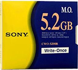"Sony MO-Disk 5,2GB 5,25"""