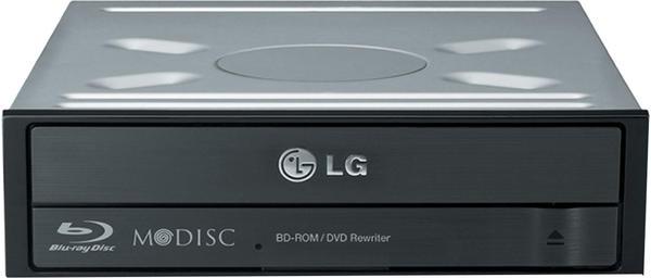 LG Electronics Blu-ray Laufwerk Intern CH12NS40.AUAU Bulk SATA Schwarz