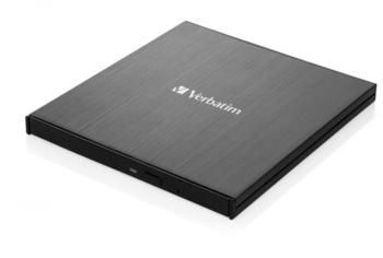 Verbatim Externer Slimline-Blu-ray-Writer Ultra HD 4K (43888)