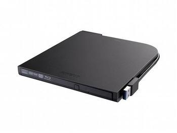 Buffalo MediaStation BRXL-PT6U2VB Laufwerk BDXL 6x2x6x - USB2.0 - extern (BRXL-PT6U2VB-EU)