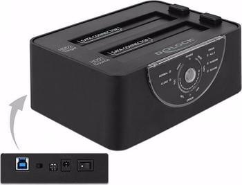 DeLock USB 3.0 Dual Dockingstation (63992)