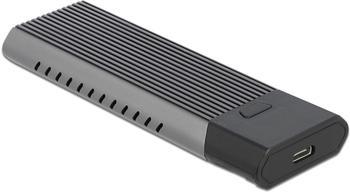 DeLock Externes USB Type-C Combo Gehäuse M.2 NVMe PCIe / SATA SSD (42638)