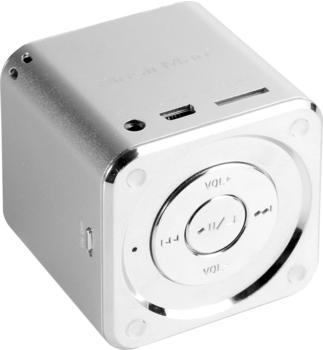 Technaxx MusicMan Mini Soundstation silber