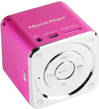Technaxx MusicMan Mini Soundstation pink