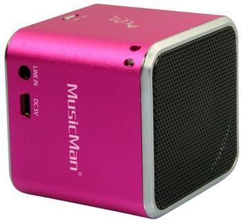 Technaxx MusicMan Mini Wireless Soundstation BT-X2 pink