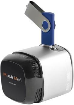 Technaxx MusicMan Makro Soundstation X6 silber