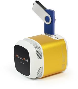 Technaxx MusicMan Makro Soundstation X6 gold
