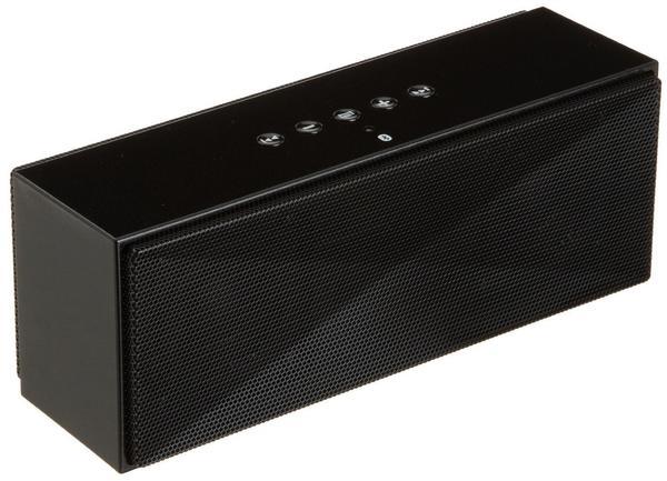 AmazonBasics Tragbarer Bluetooth-Lautsprecher schwarz