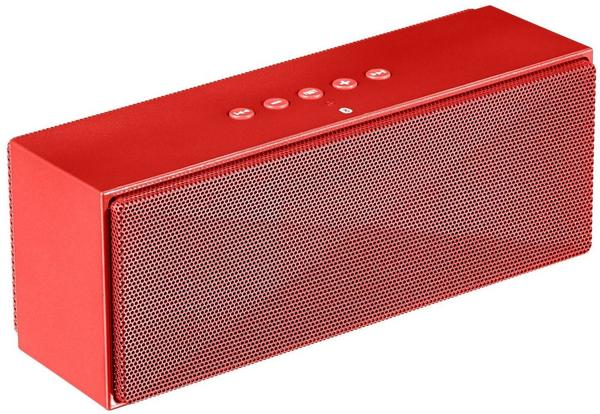 AmazonBasics Tragbarer Bluetooth-Lautsprecher rot